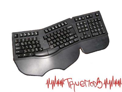 Общий вид клавиатуры, выглядит вполне стандартно