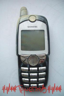 Вид спереди мобильного телефона Siemens SL45